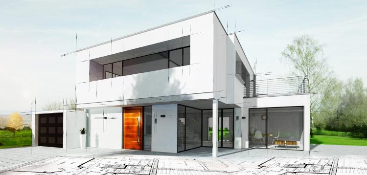 Haus - Zeichnung