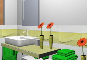 Gäste-WC Entwurf