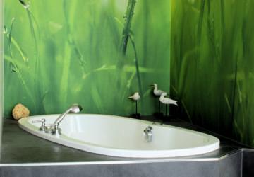 Whirlpool-Design grün